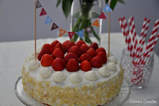 Erdbeer-Ricotta-Torte